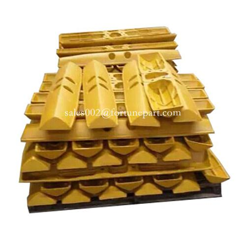 Caterpillar tractor track shoe pad